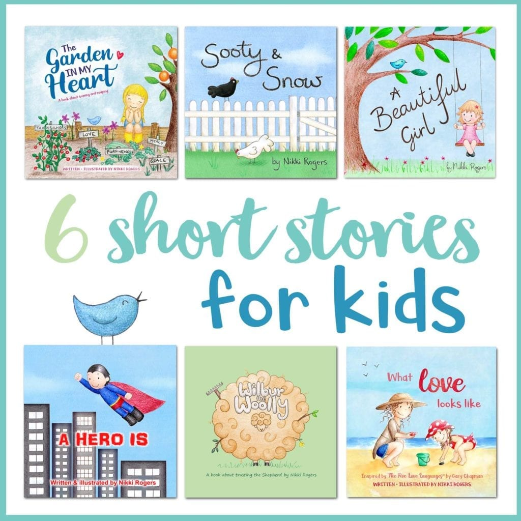 6 short stories for kids